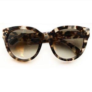 Celine tortoise cat eye sunglasses